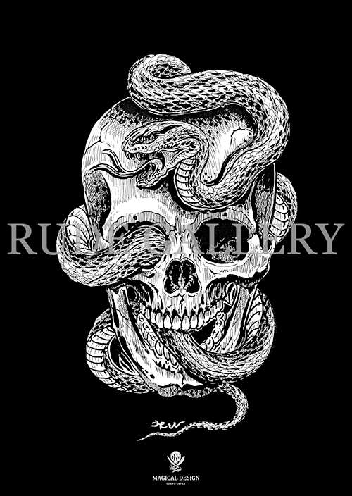 MAGICAL DESIGN SKULL&SNAKE - コピー.jpg